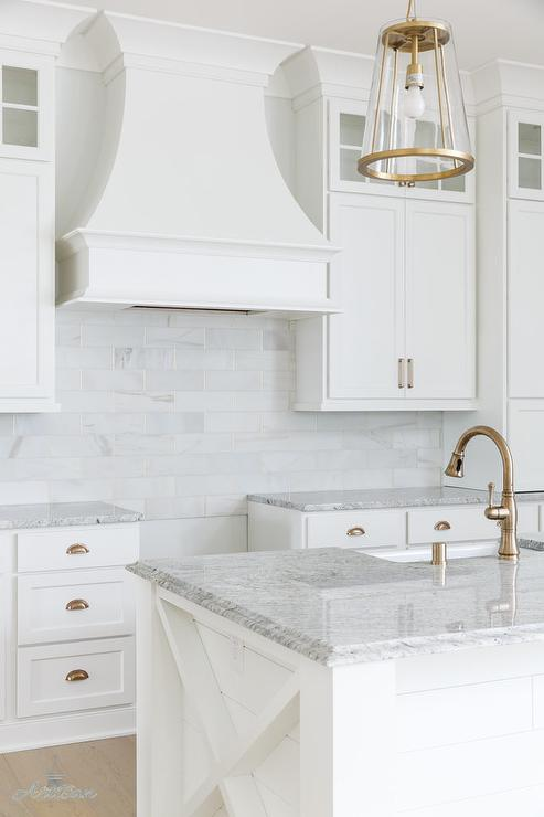 Cabinet Color is Benjamin Moore Pure White