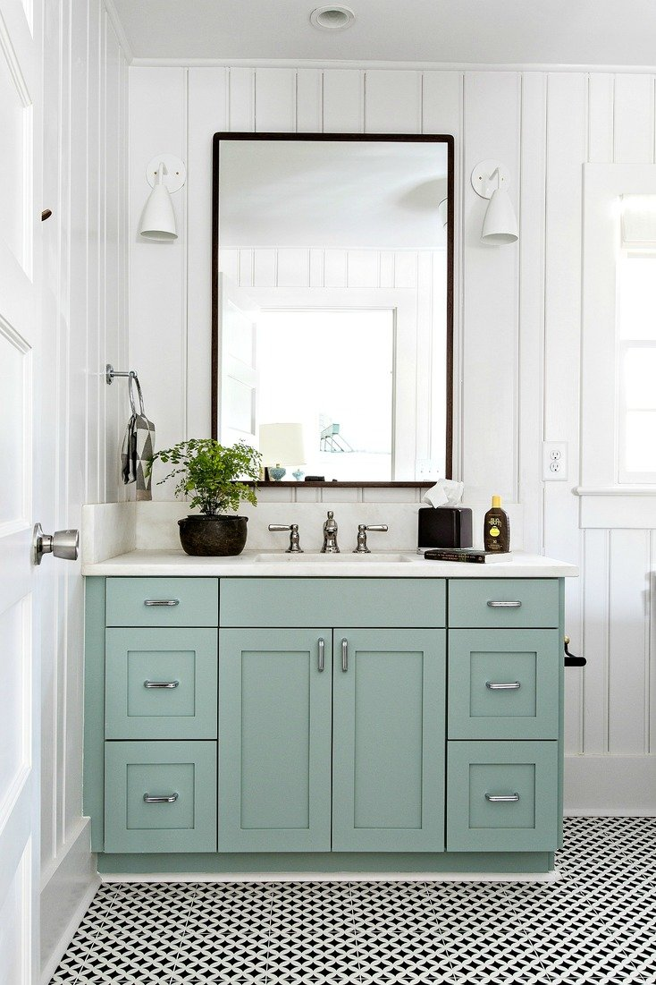 Cabinet color farrow and ball green blue cortney bishop design
