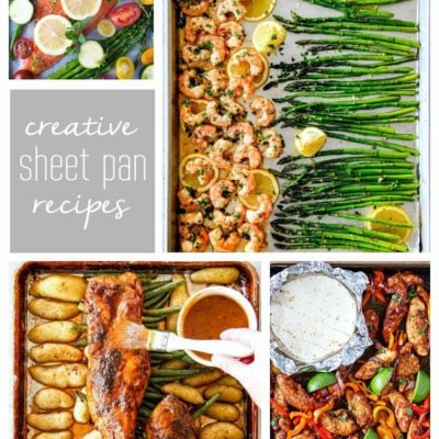 More Creative Sheet Pan Recipes