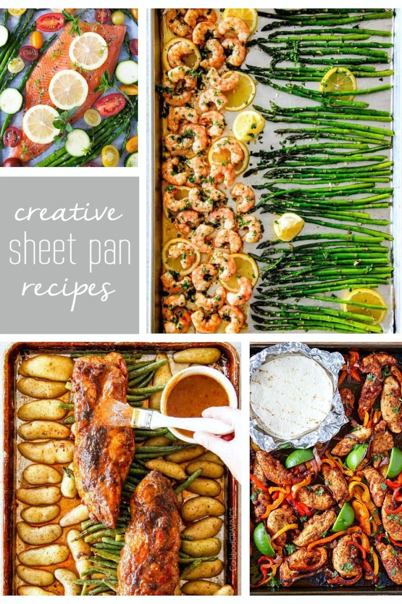 Creative sheet pan recipes to try