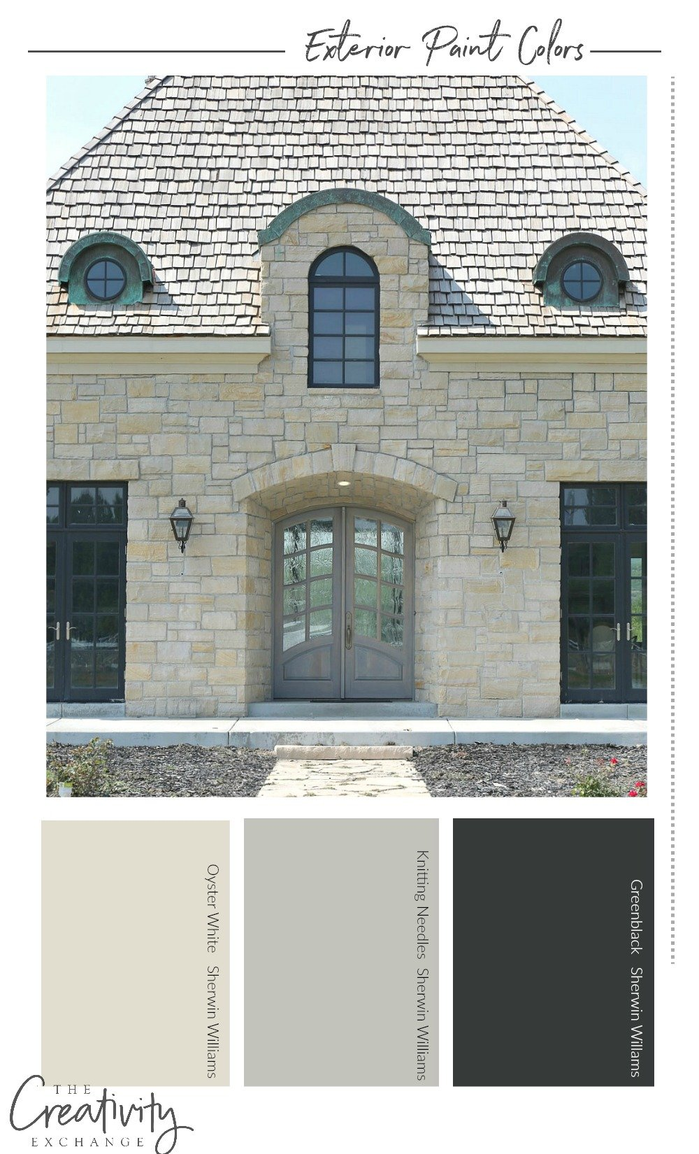 Exterior Paint Colors for Stone