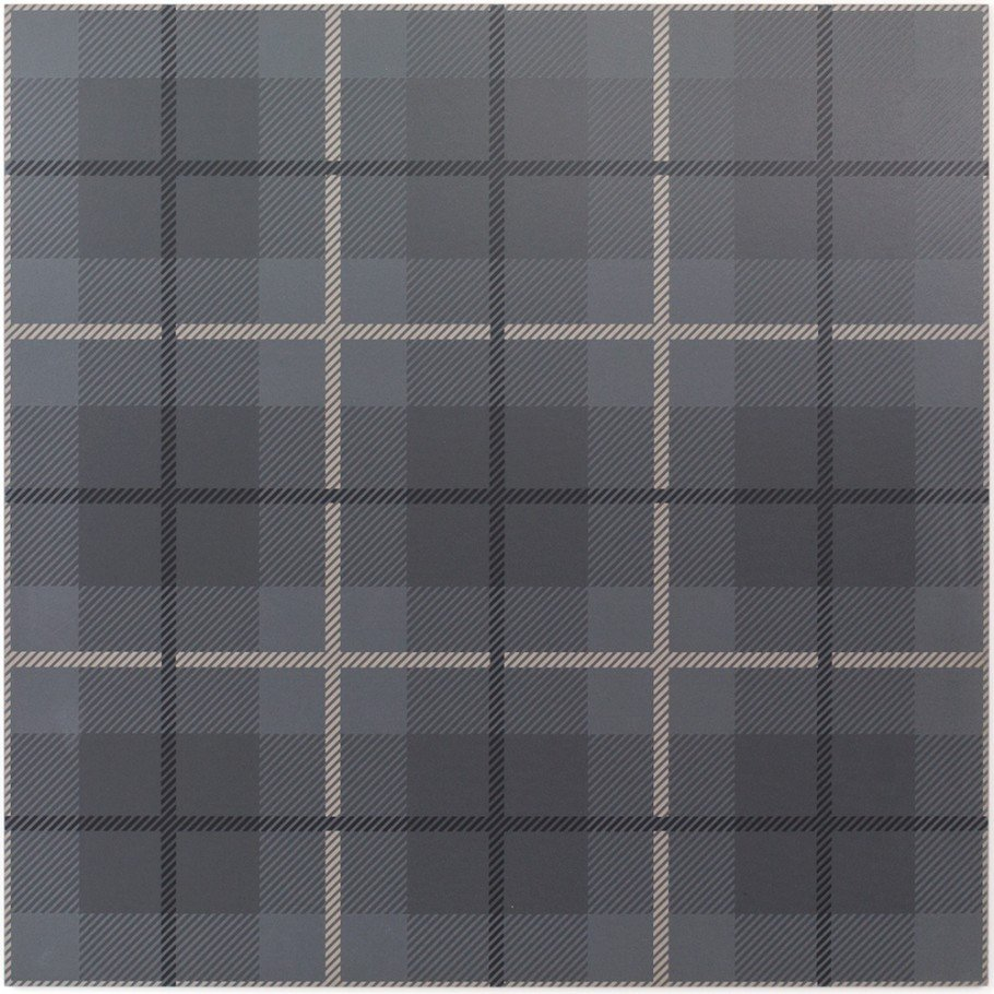 Gray plaid tile