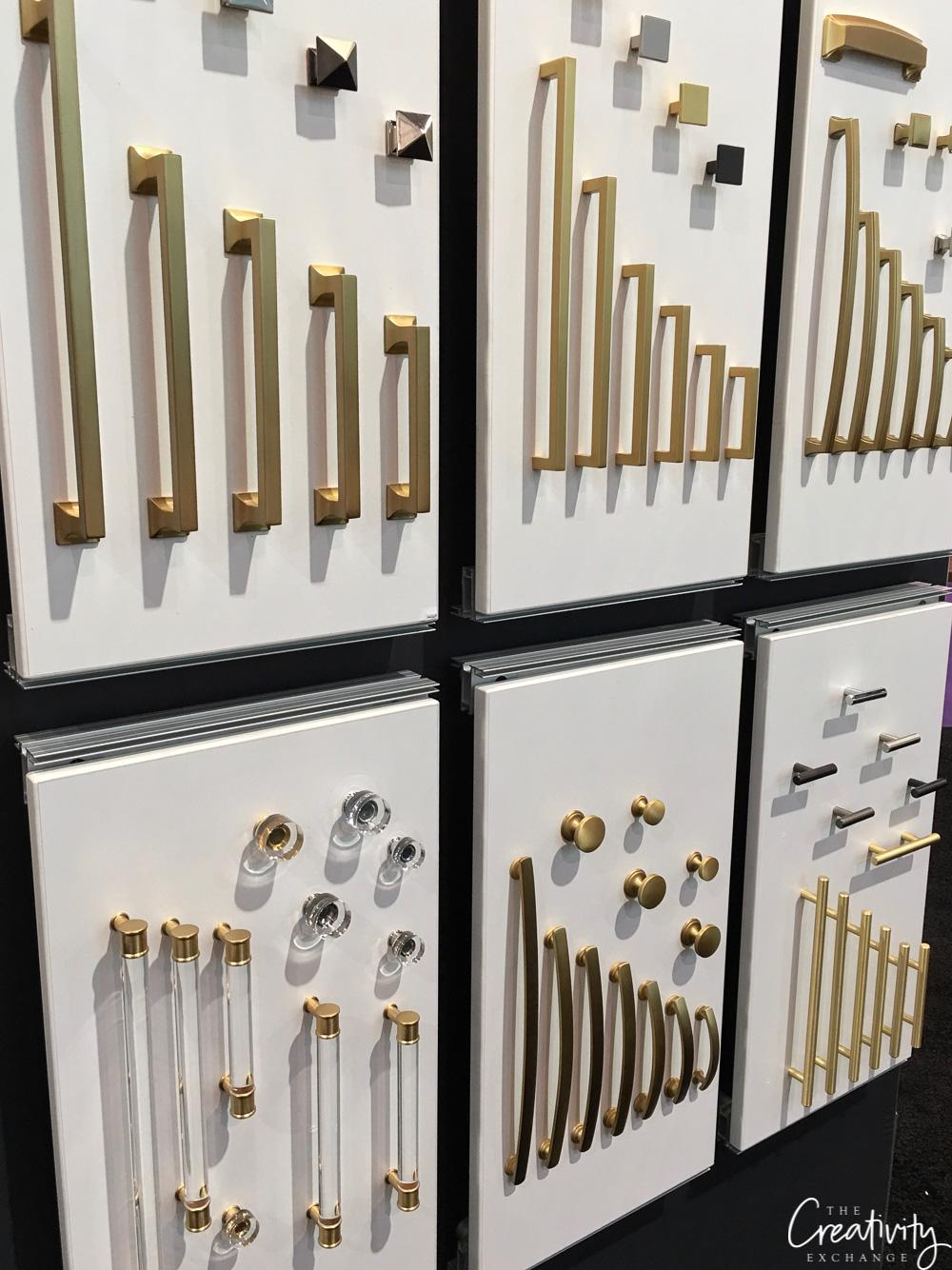 Emtek cabinet pulls and hardware