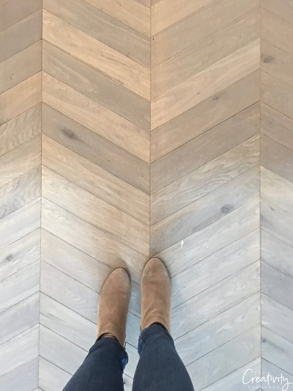 Herringbone Oak Flooring