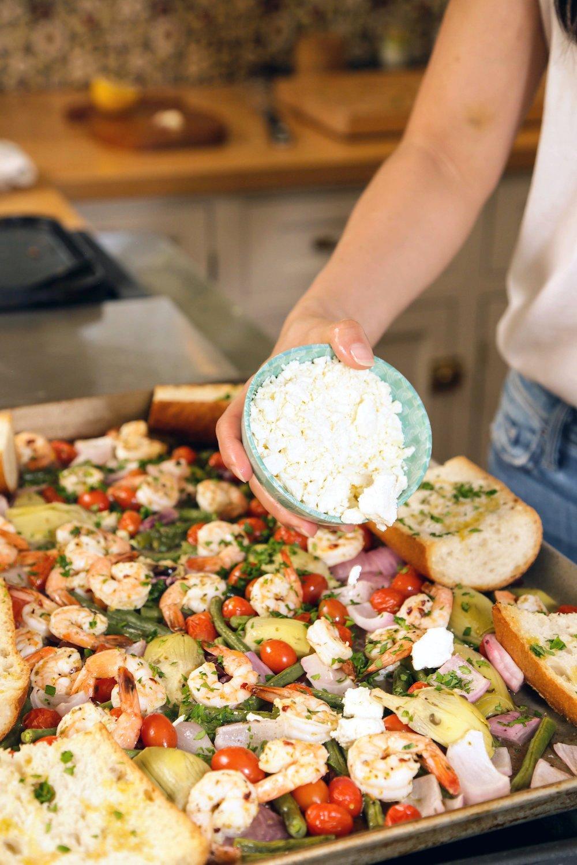 Mediterranean Shrimp Cheat Sheet