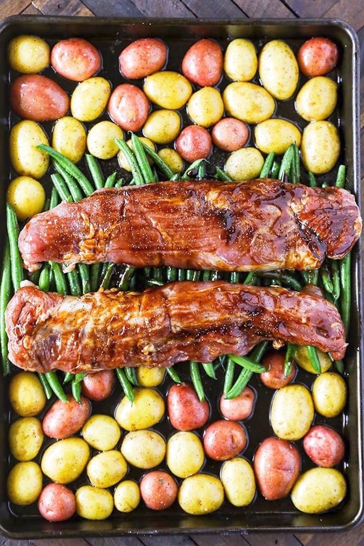 Pork Tenderloin Recipe Easy Sheet Pan Dinner