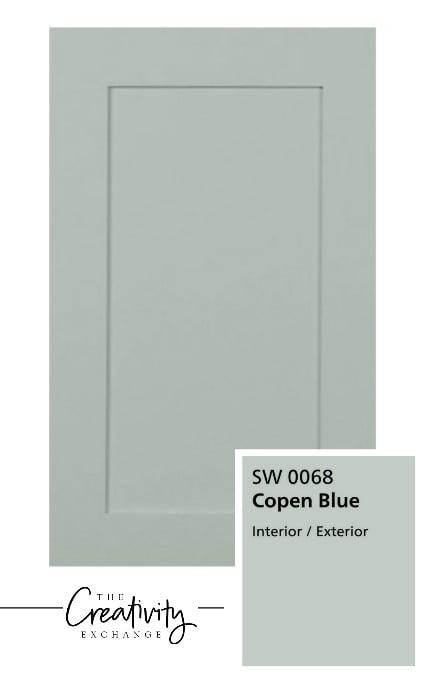 Sherwin Williams Copen Blue