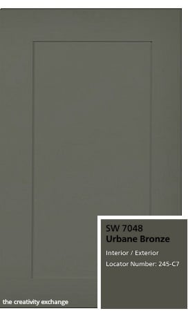 Sherwin Williams Urbane Bronze