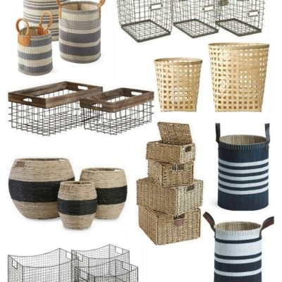 Our Favorite Decorative Baskets for Organizing