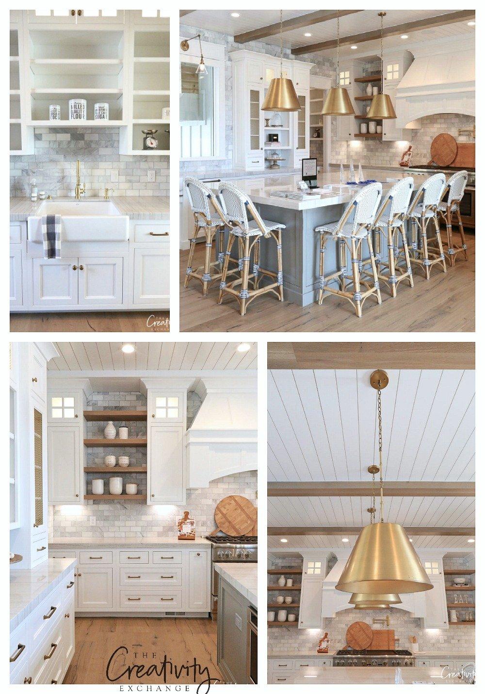 Modern Farmhouse Dream Kitchen.