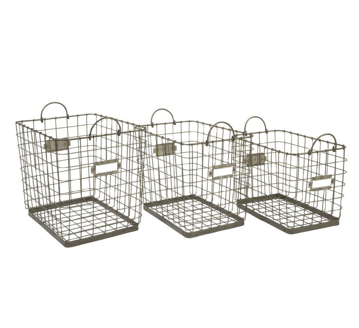Iron Storage Baskets