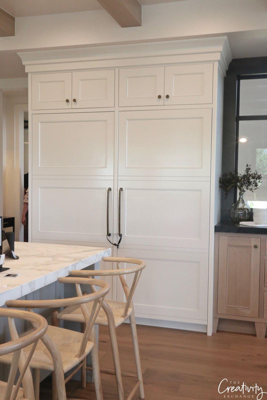 Custom refrigerator doors
