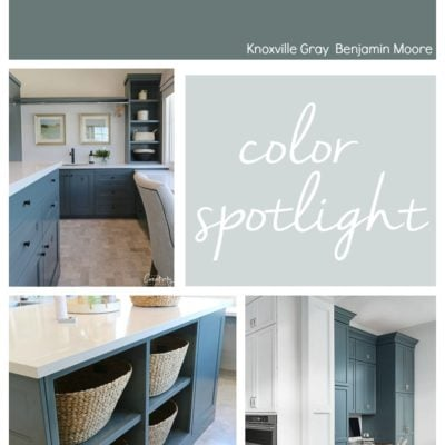 Benjamin Moore Knoxville Gray Color Spotlight