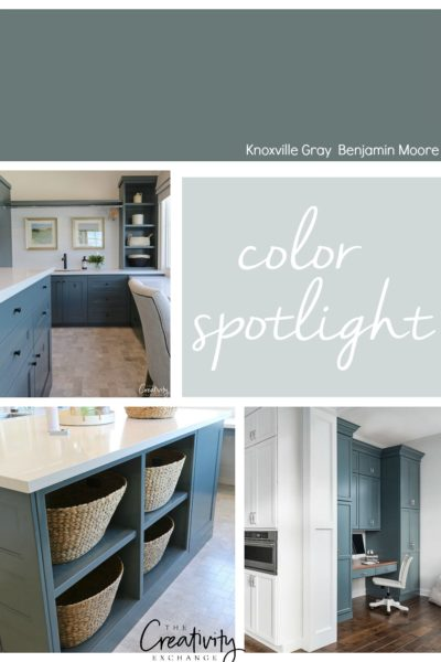 Benjamin Moore Knoxville Gray Color Spotlight