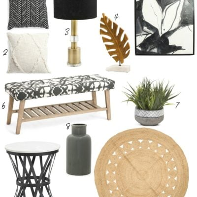 Knock Off Home Decor Deals: Moody Monday