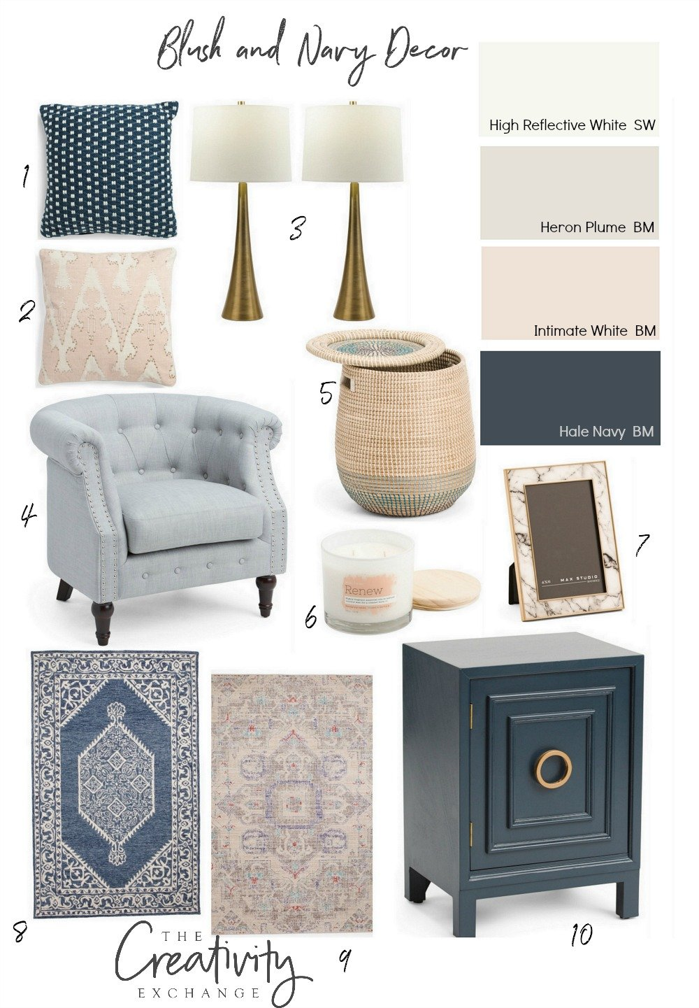 Look for less home decor pieces