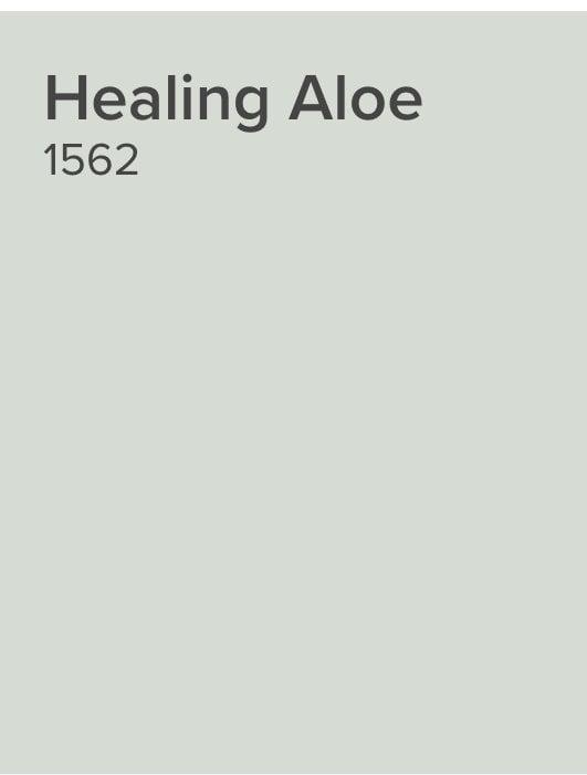 Benjamin Moore Healing Aloe