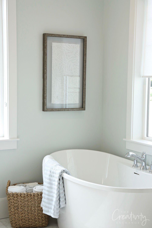 Serene and beautiful bathroom