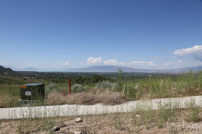 Views overlooking Utah Valley
