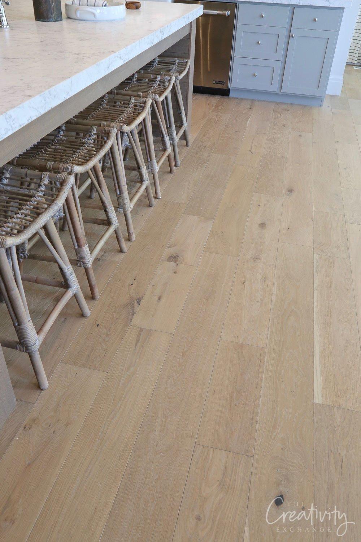Oak engineered floors