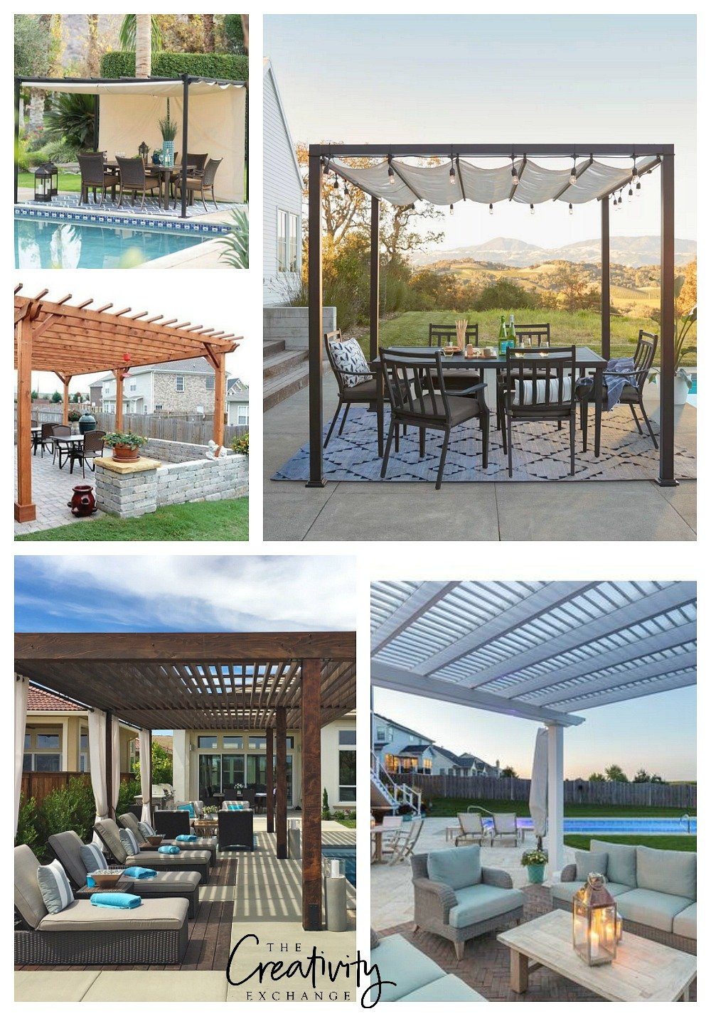 Great sources for outdoor pergolas and pergola kits