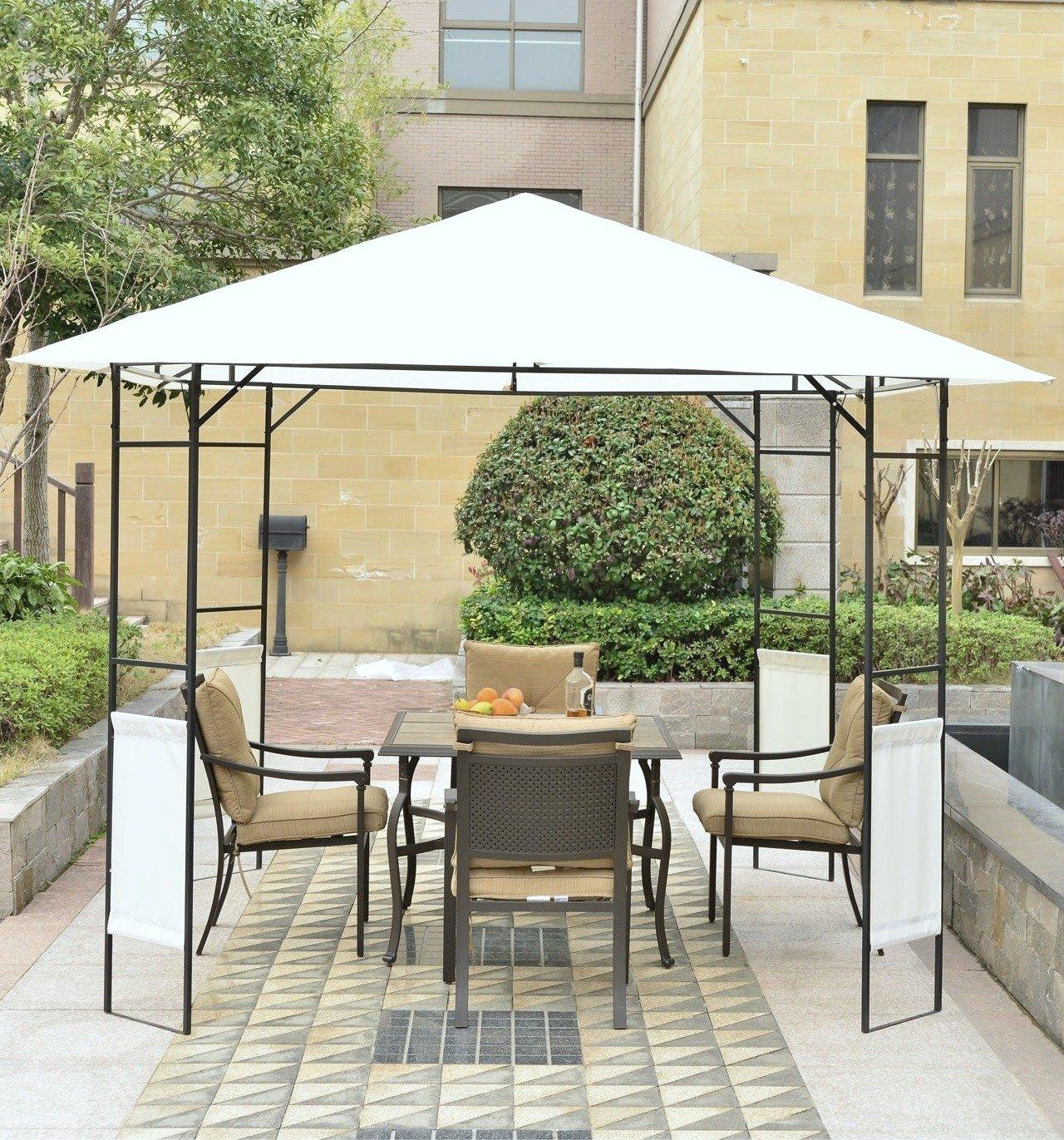 Modern 10 x 10 outdoor canopy