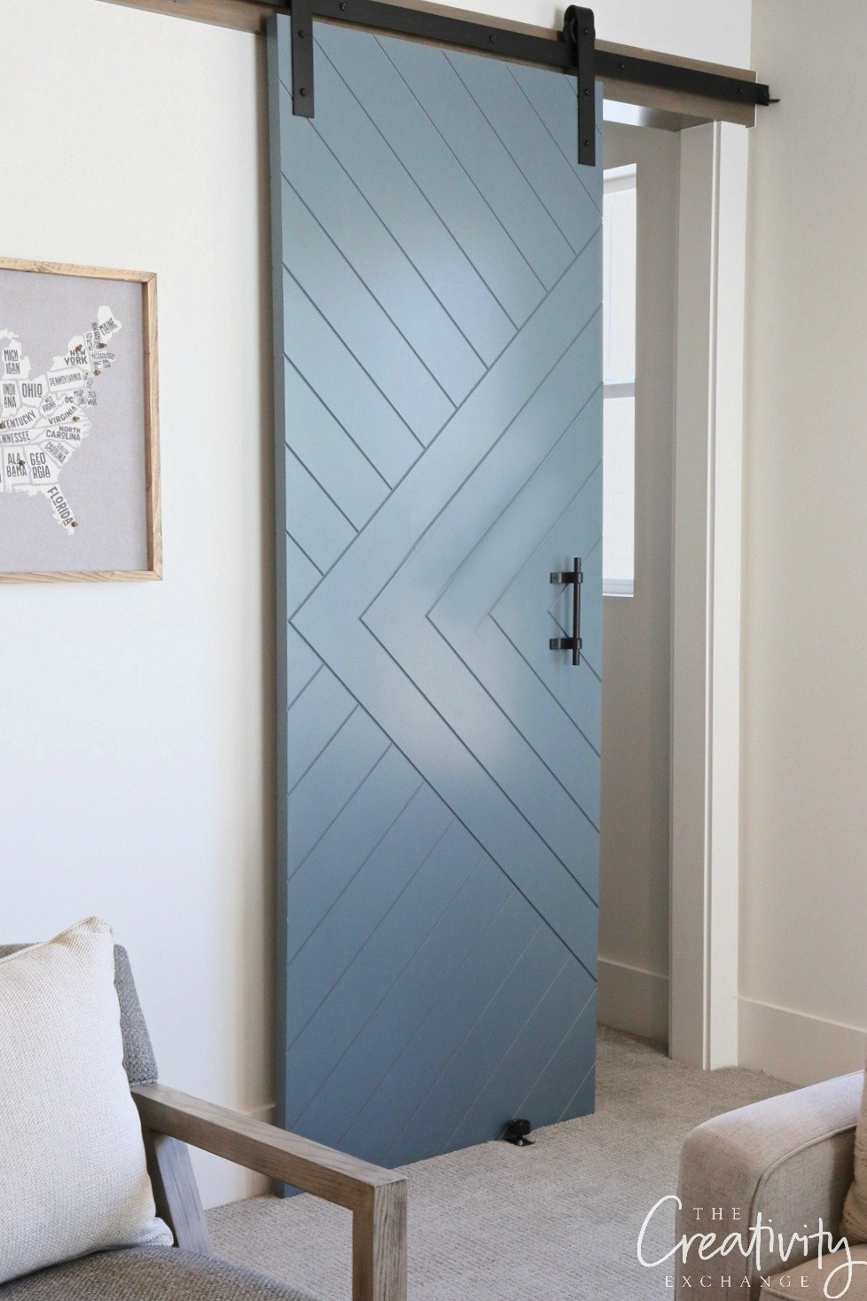 Door color is Sherwin Williams Slate Tile
