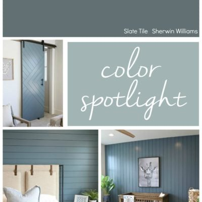 Sherwin Williams Slate Tile: Color Spotlight
