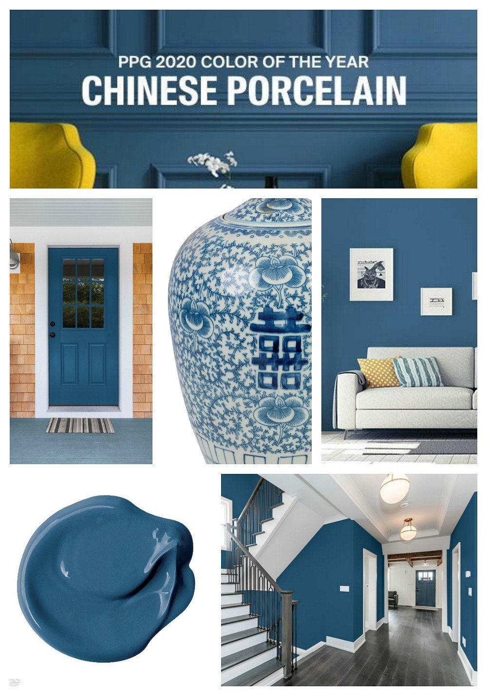 PPG 2020 Color of the Year Chinese Porcelain