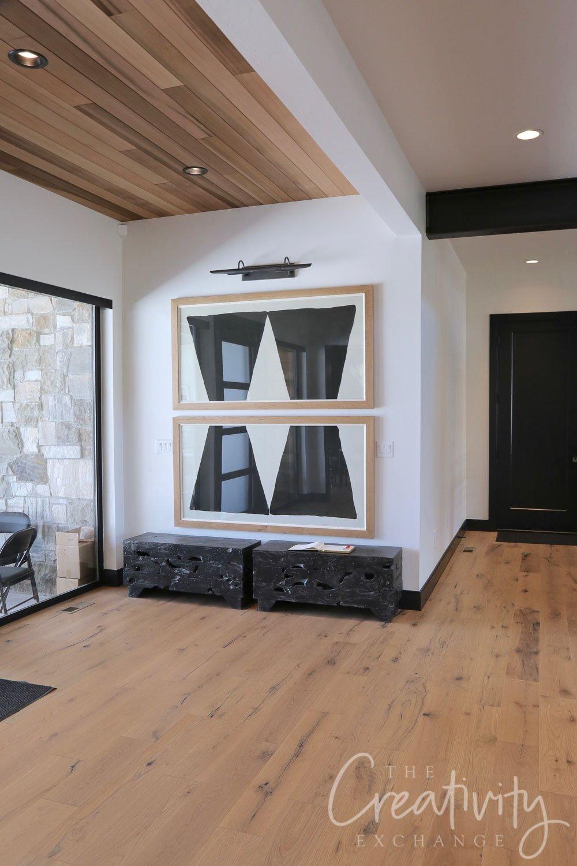 Solid white oak floors