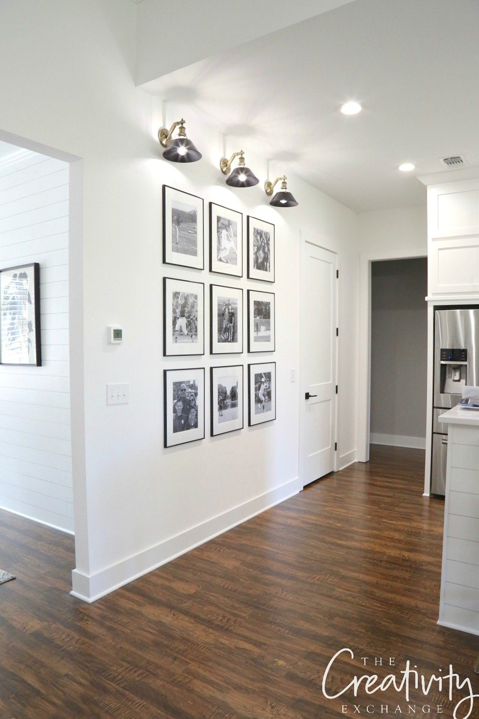 Black and White Gallery Wall Shortcuts
