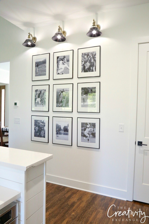 Gallery wall shortcuts