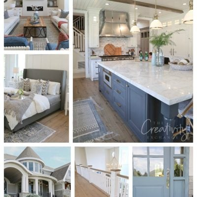 Modern Nantucket Style Home Tour