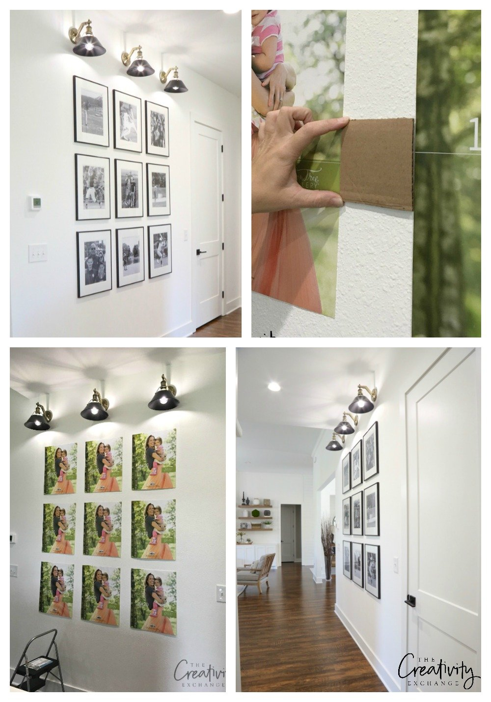 Shortcuts and tricks for creating a gallery wall