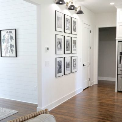 The Easiest Gallery Wall You Could Ever Do