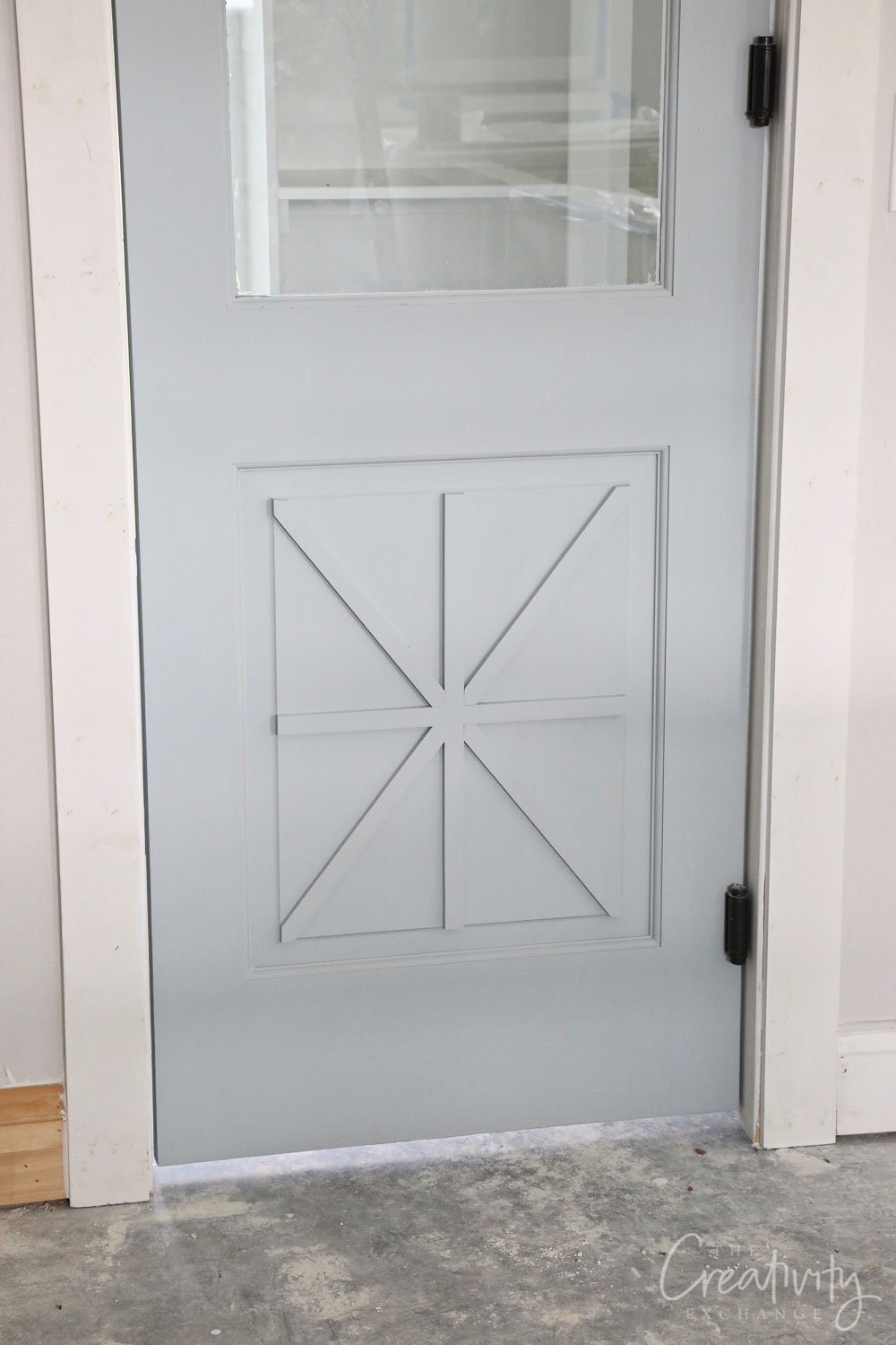 Door color is 50% SW Stardew and 50% Crushed Ice