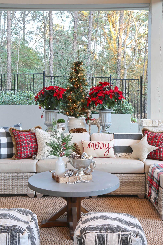 Outdoor Christmas Home Tour