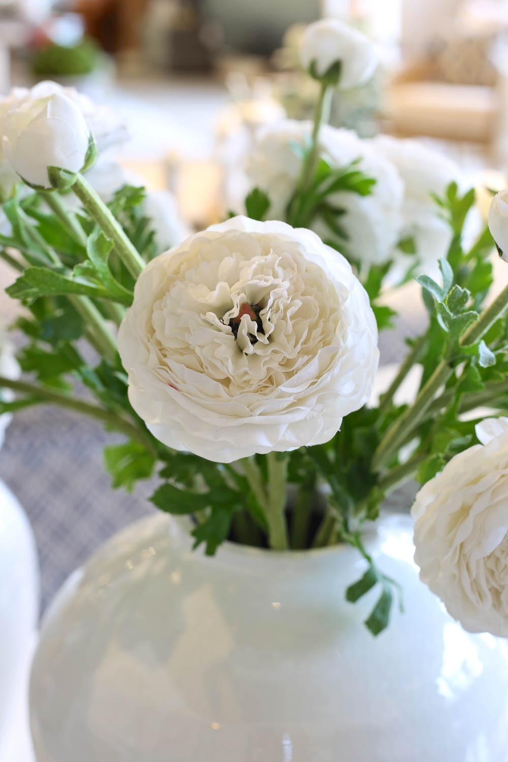 Real touch faux buttercup ranunculus that look and feel so real!