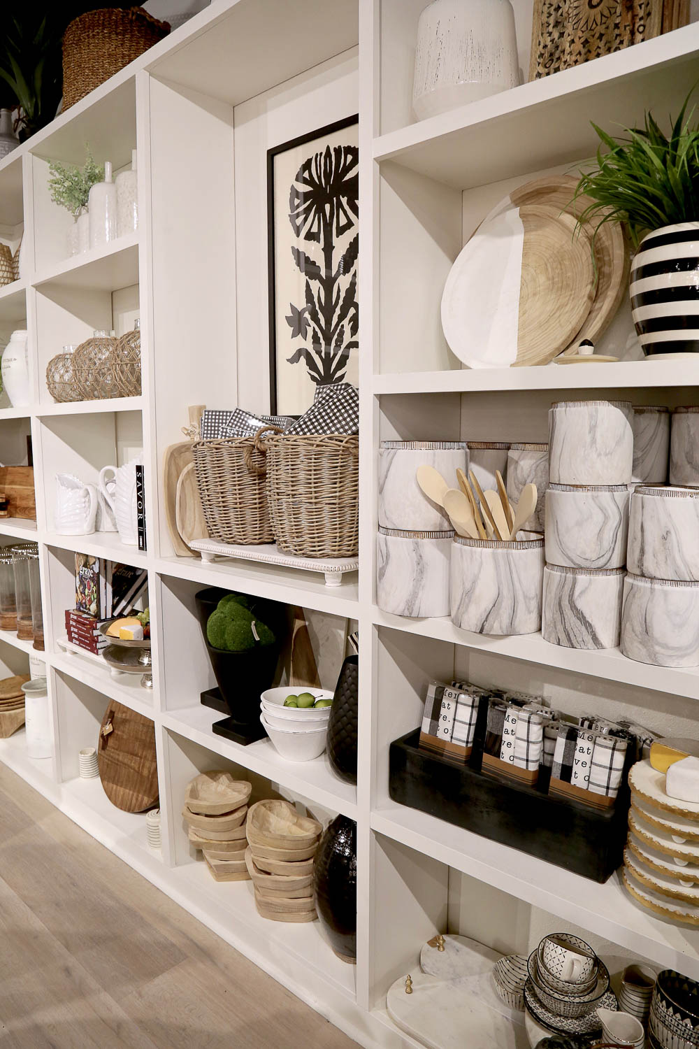 Styling vessels at Layered Home Lufkin