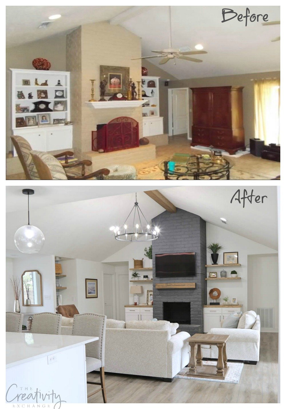 Amazing remodel transformation