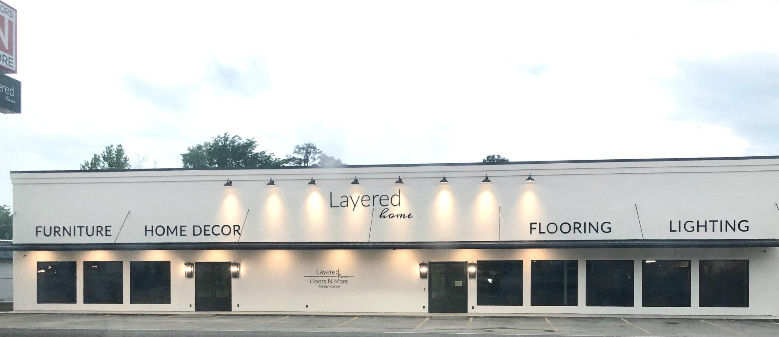 Layered Home Design Center Lufkin Texas