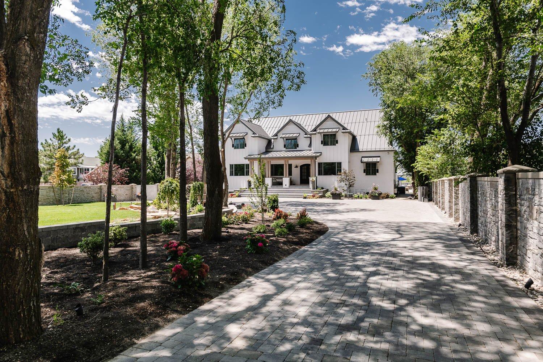 Redefined Modern Farmhouse Exterior