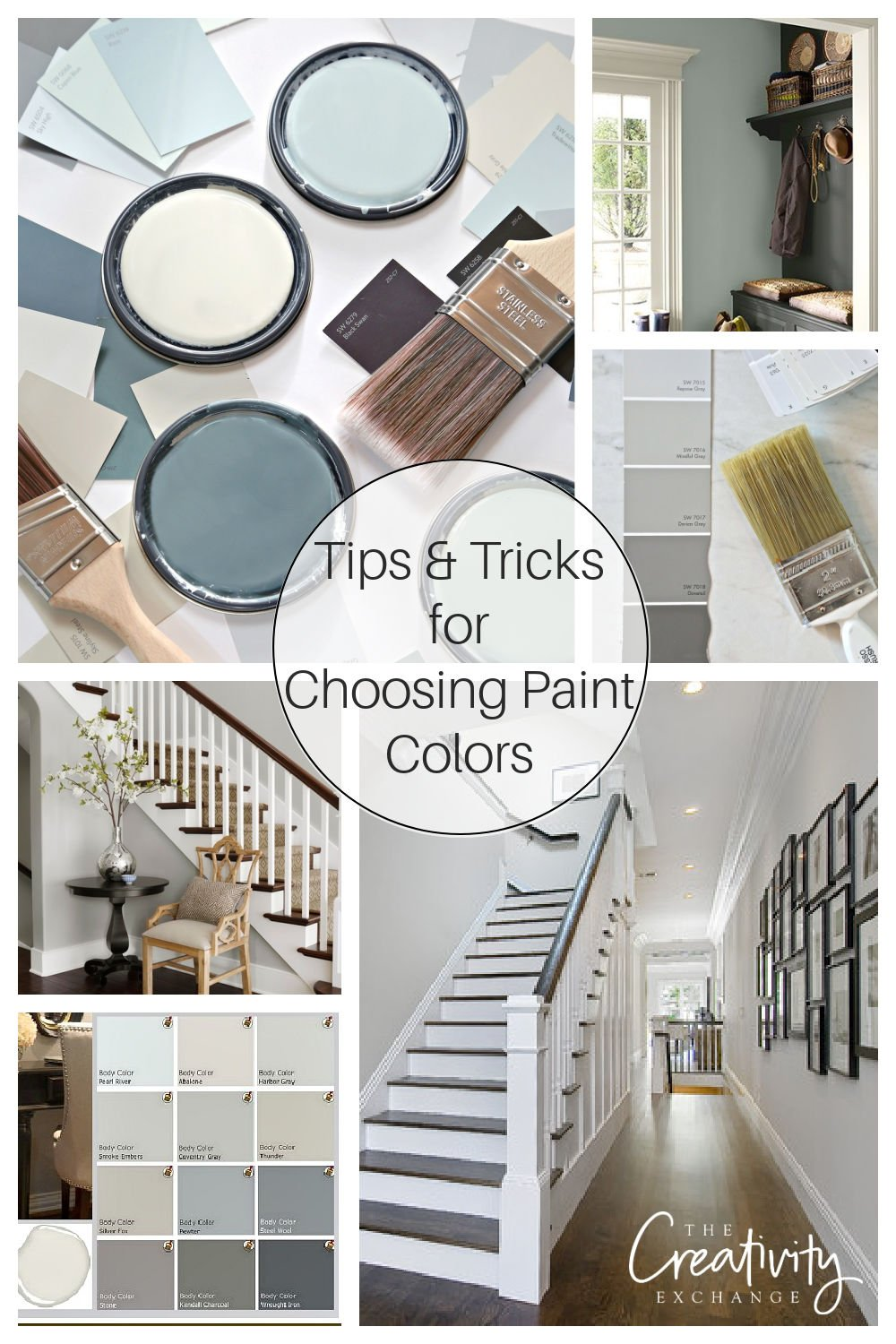 Tips and Tricks for Choosing Paint Colors
