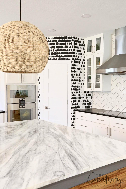 Modern Kitchen with Quartzite Countertops