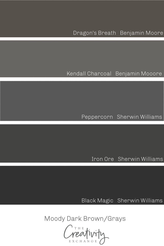 Beautiful Dark Brown Grays