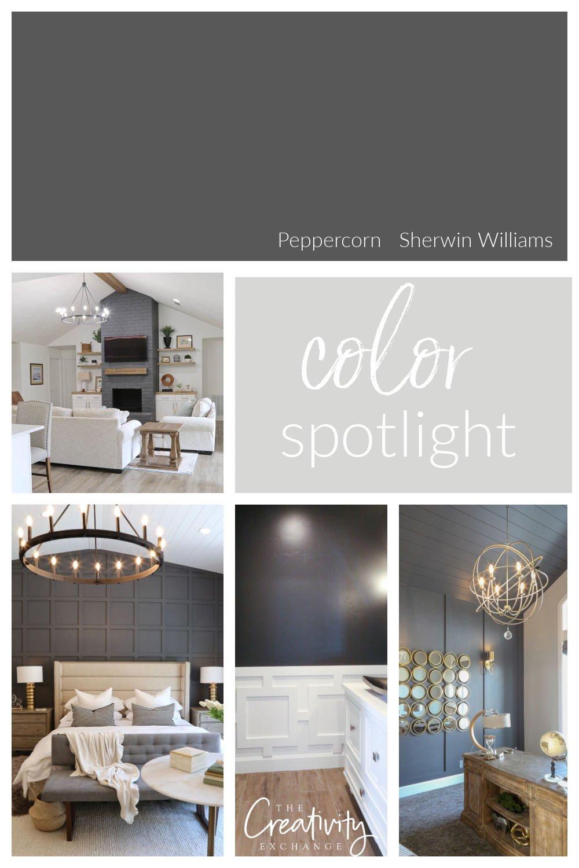 Sherwin Williams Peppercorn Color Spotlight