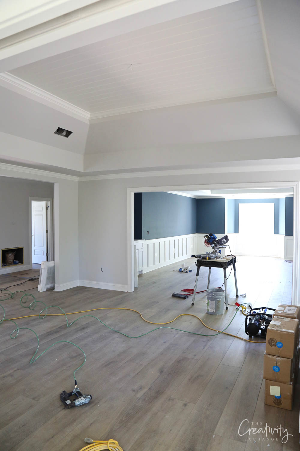 Combination media and game room