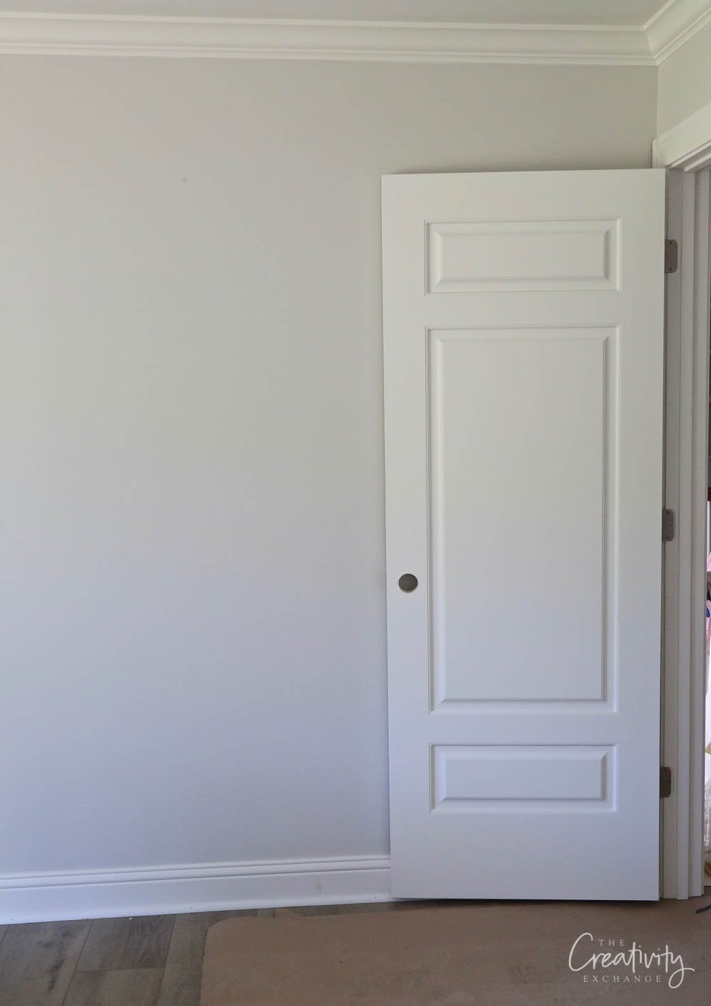 Wall color is Sherwin Williams Drift of Mist