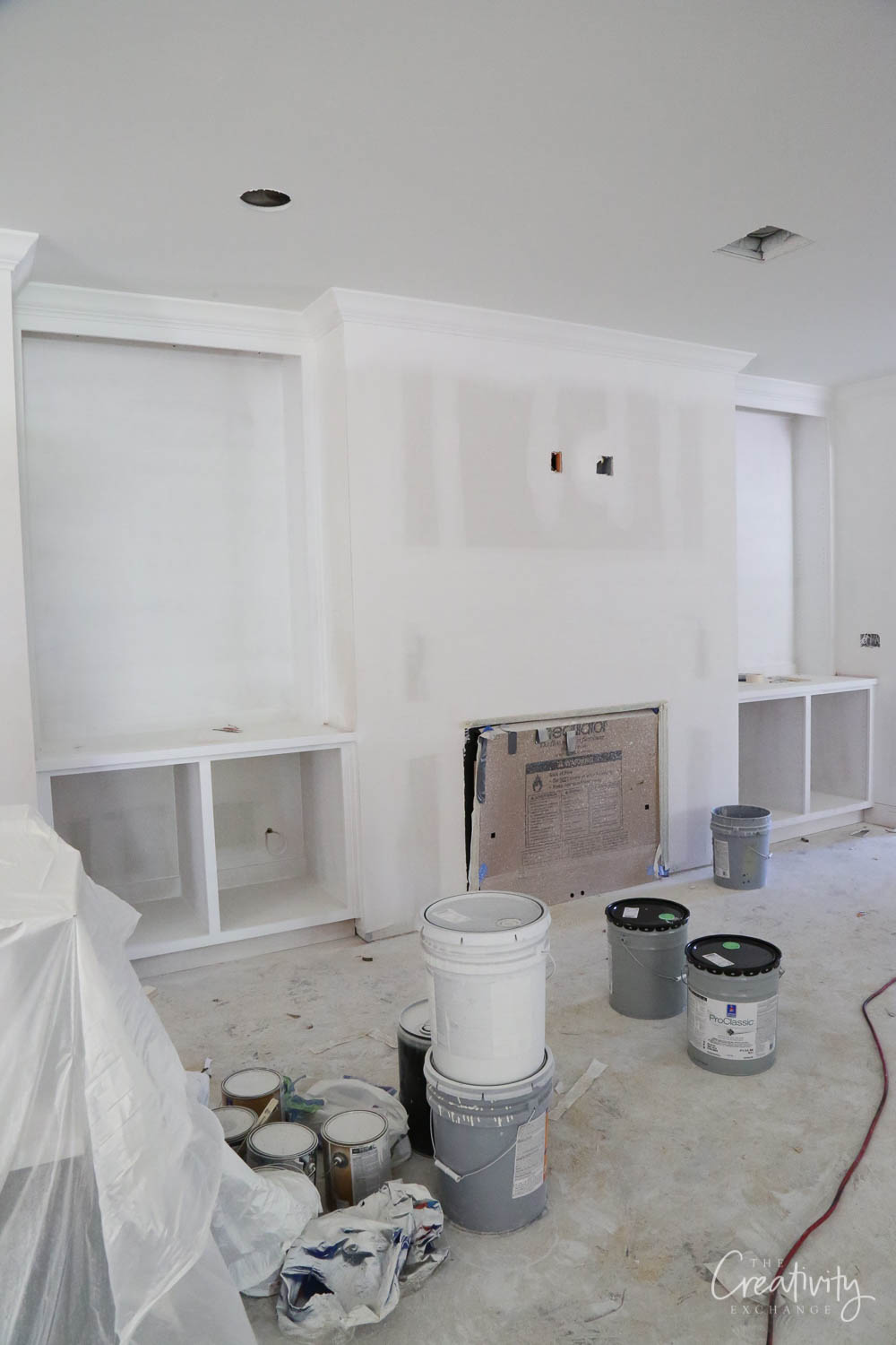 Whole home remodel project