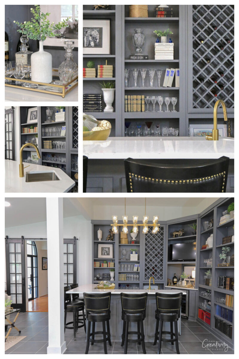 Amazing Library Bar Remodel Transformation